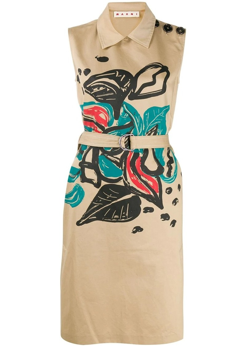 Marni Jungle Liz print dress