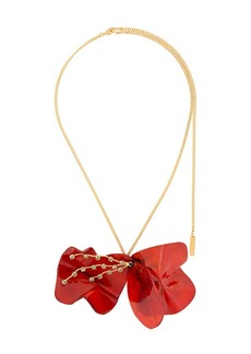 Marni floral resin necklace