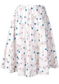 Marni floral skirt