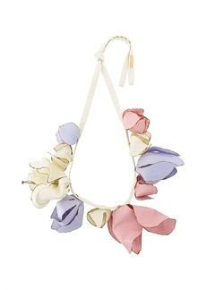 Marni floral statement necklace