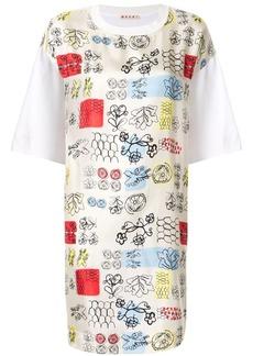 Marni floral T-Shirt dress