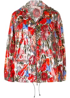 Marni floral zipped jacket