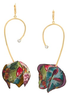 Marni flower drop earrings
