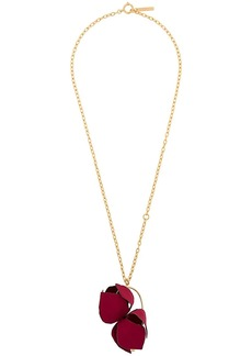 Marni flower pendant necklace