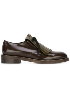 Marni fringed lace-up Derby shoes