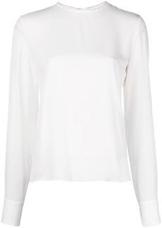 Marni front zip blouse