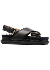 Marni Fussbett buckle sandals