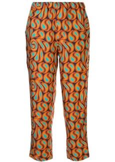 Marni geometric-print trousers