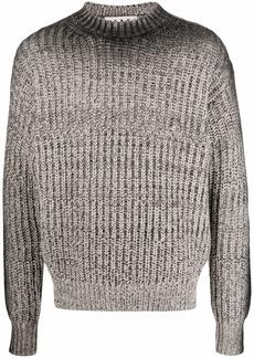 Marni gradient chunky-knit wool jumper