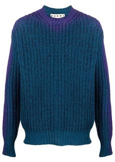 Marni gradient effect jumper