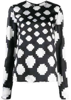 Marni graphic print blouse