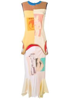 Marni graphic print maxi dress