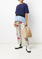 Marni graphic print trousers