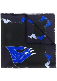 Marni hand print scarf