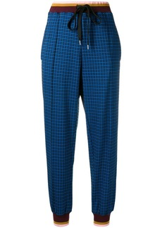 Marni high rise tapered trousers