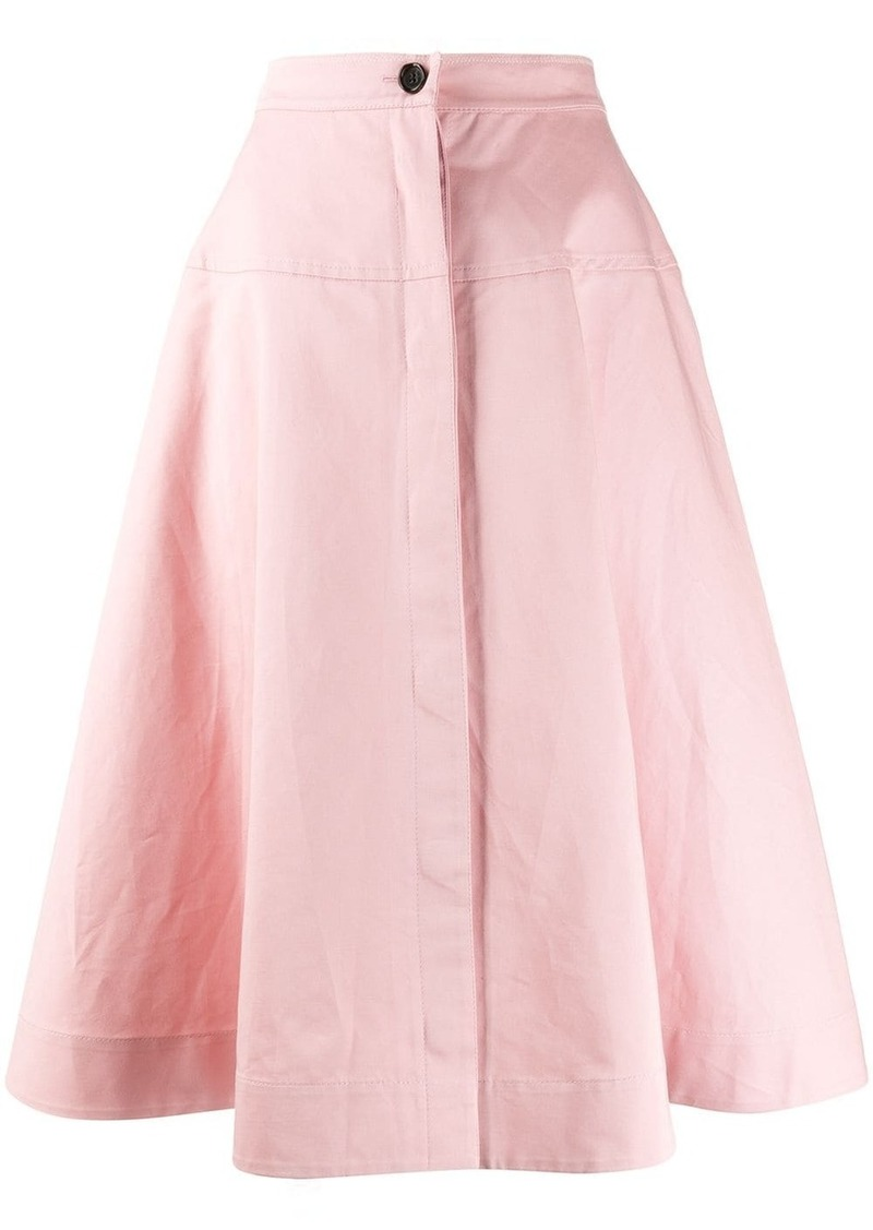 Marni high-waist a-line skirt