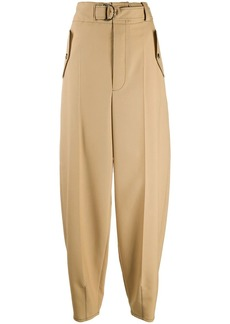 Marni high-waist balloon-leg trousers
