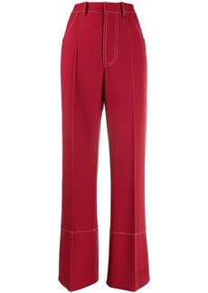 Marni high-waist wide-leg trousers