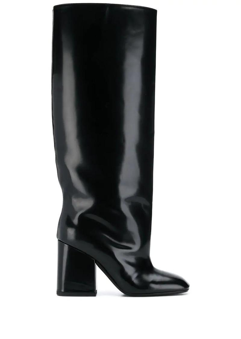 Marni knee length boots