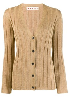 Marni knitted button-front cardigan
