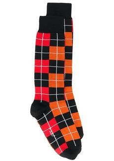 Marni jacquard check socks