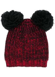 Marni knitted pom-pom hat