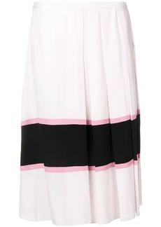Marni large pleated skirt