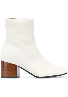 Marni leather 70 mm ankle boots