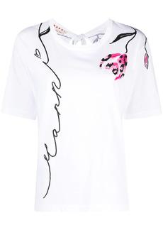 Marni Leopard flower print T-shirt