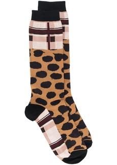 Marni leopard pattern socks