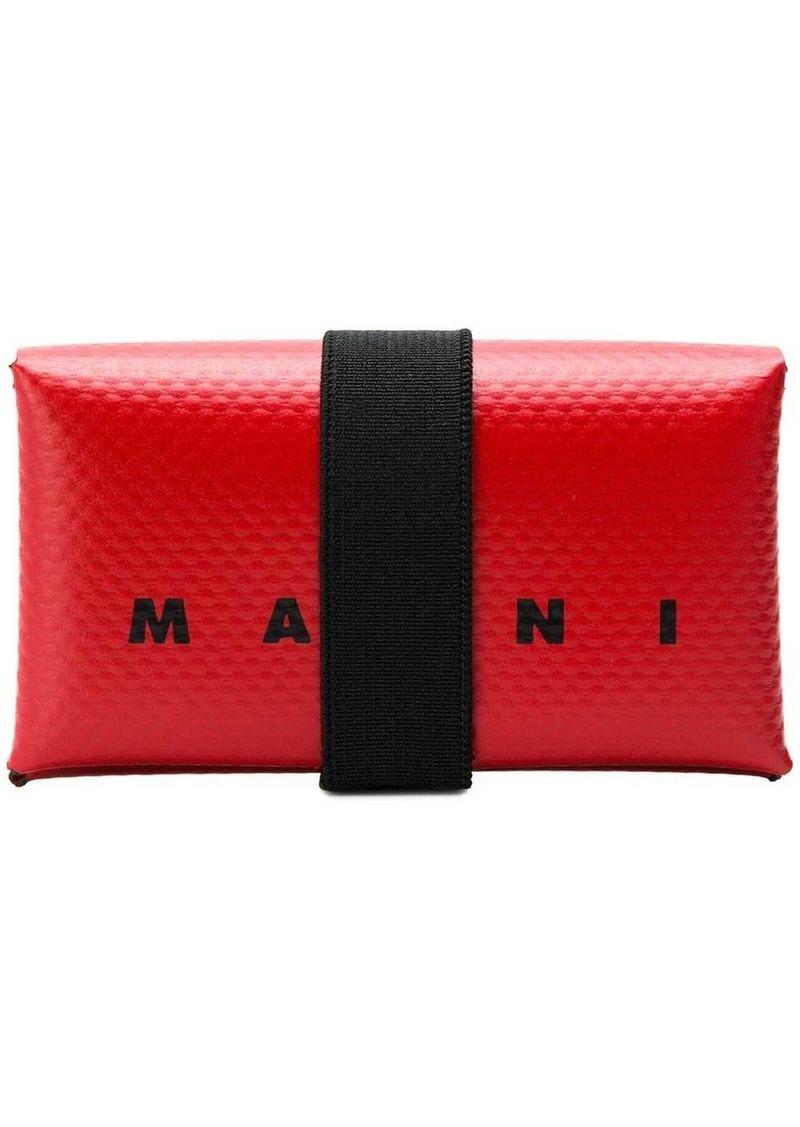Marni logo card wallet