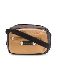 Marni logo messenger bag