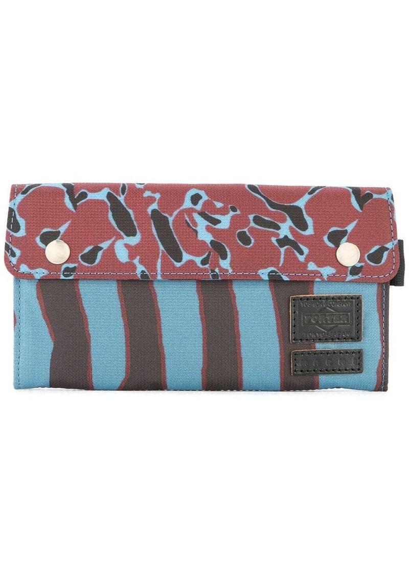 Marni long animal print wallet