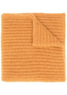 Marni long knitted scarf