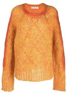 Marni long-sleeve knitted jumper
