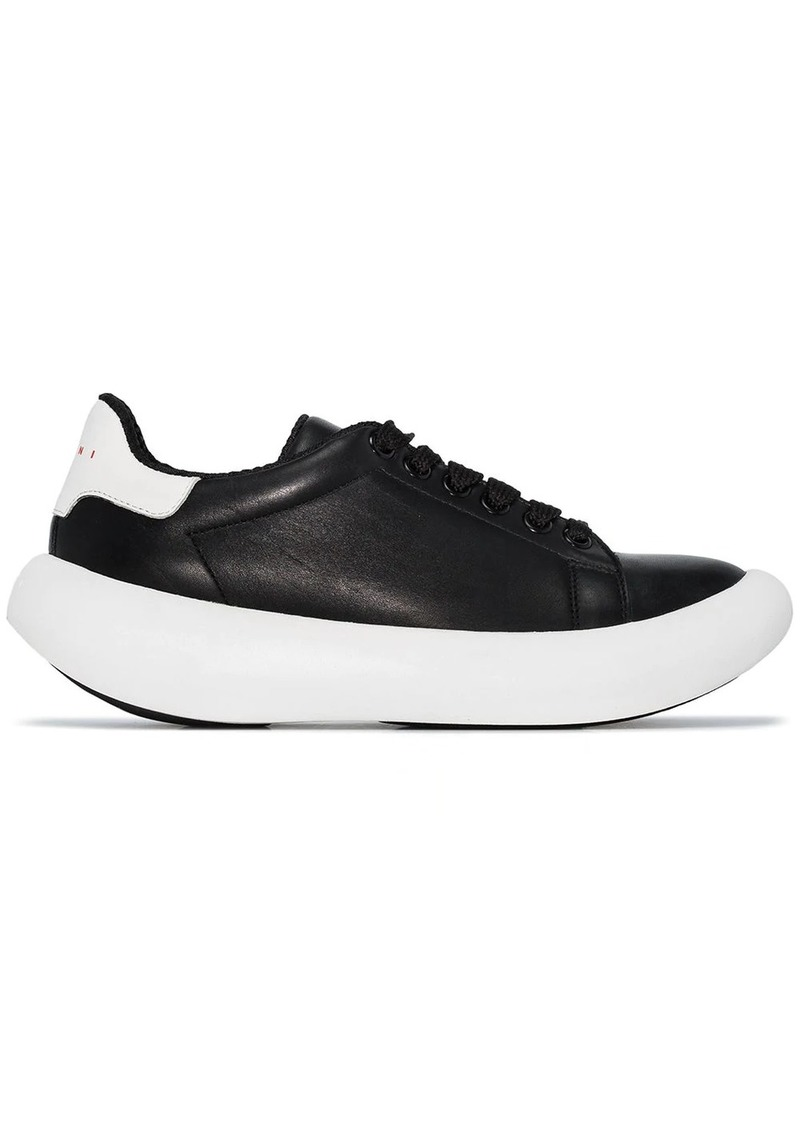 Marni low-top thick-sole sneakers