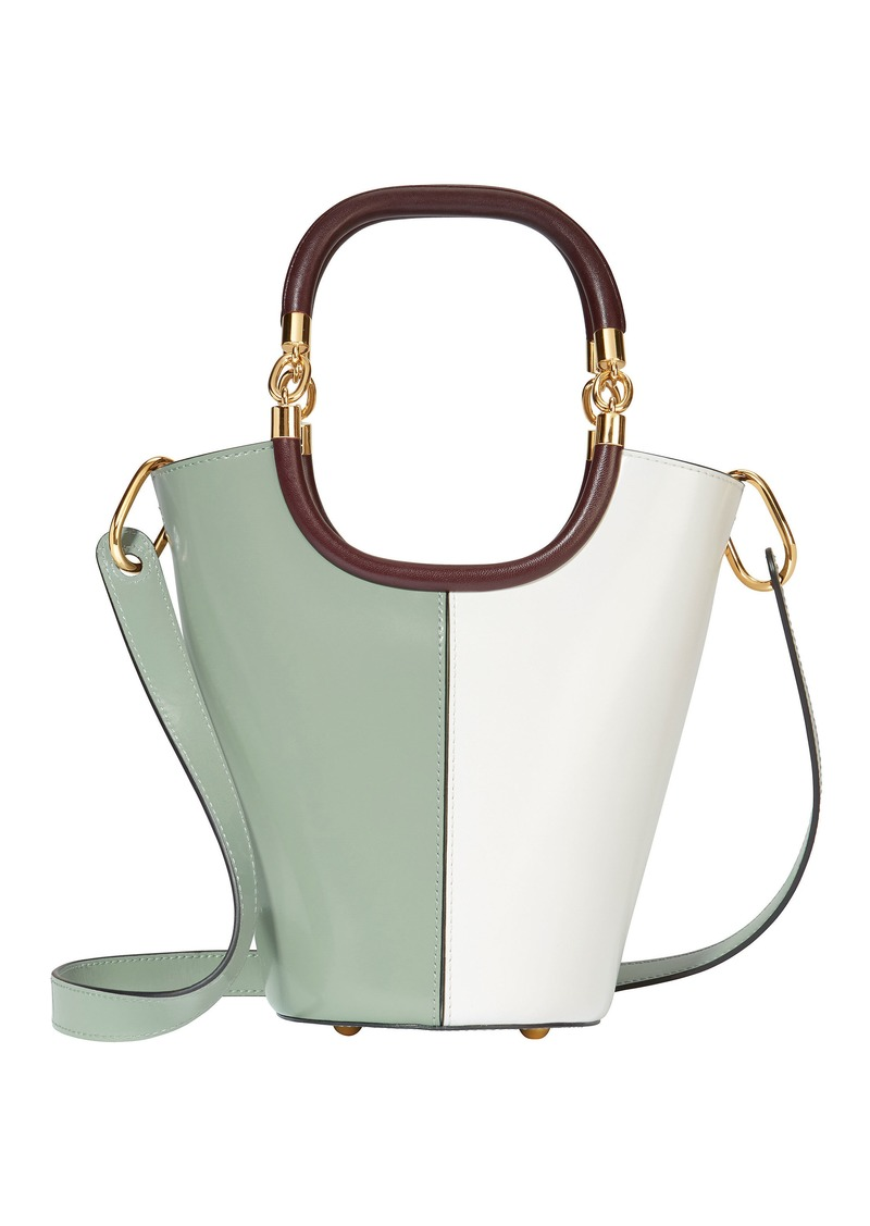 d3c5a34b2546 Marni Maili Colorblock Medium Bucket Shoulder Bag
