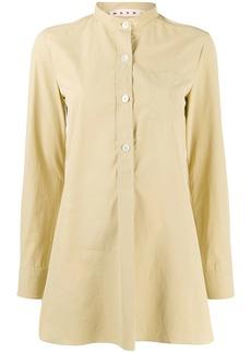Marni mandarin collar shirt