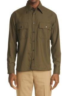 Marni '50s Fresco Wool Shirt