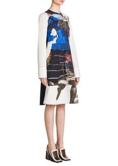 Marni Abstract Poplin Dress