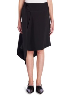 Marni Asymmetric Wrap Skirt