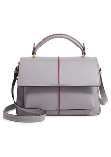 Marni Attaché Leather Top Handle Bag