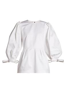 Marni Balloon-sleeve cotton top