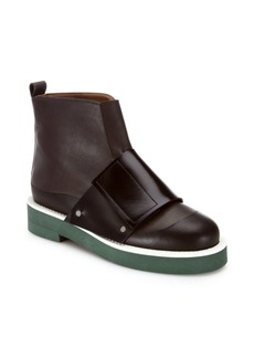Marni Banded Leather Booties