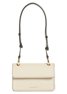 Marni Beat Leather Crossbody Bag