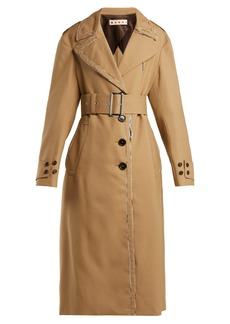Marni Belted wool trench coat