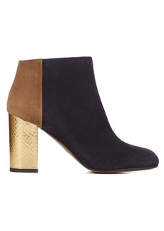 Marni Bi-colour suede ankle boots