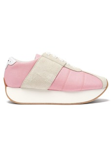 Marni Big Foot low-top trainers