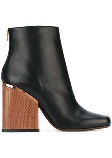 Marni block heeled booties