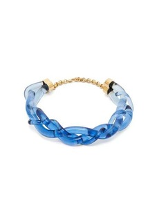 Marni Braided perspex necklace